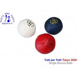 Tutti per tutti boccia ball lopty type tokyo jednotlive 01 bashto sports paralympic logo