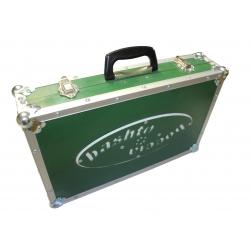 BASHTO Wooden Boccia Ball Case green