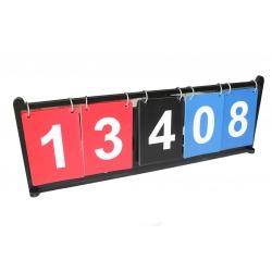 Boccia Scoreboard 01 ukazovatel skore Bashto Sports boccia paralympic
