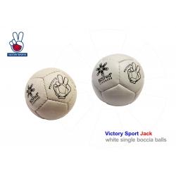 Boccia ball Victory Sports licensed Bashto Sports BC3 Throwers white biela Jack 03 S SS licensované