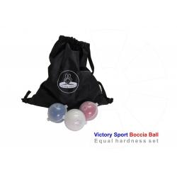 Boccia ball Victory Sports licensed Bashto Sports equal hardness set 01 licensované rovnakej tvrdosti paralympic