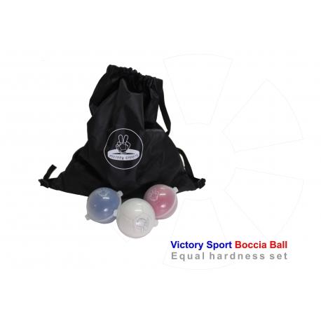 Boccia ball Victory Balls - set boccia balls bashto sports BC1 BC2 BC3 BC4 paralympic bisfed