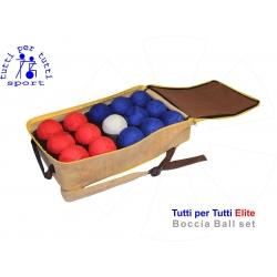 Tutti per tutti boccia ball type elite set 01 lopty bashto sports paralympic logo
