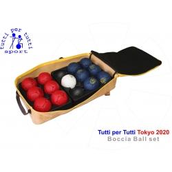 Tutti per tutti boccia ball lopty type tokyo set 01 bashto sports paralympic logo