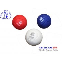 Tutti per tutti boccia ball type elite single ball 01 lopty bashto sports paralympic logo