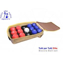 Tutti per tutti boccia ball type elite set licensed 01 lopty bashto sports paralympic