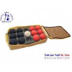 Tutti per tutti boccia ball Number One set licensed 01 lopty bashto sports paralympic