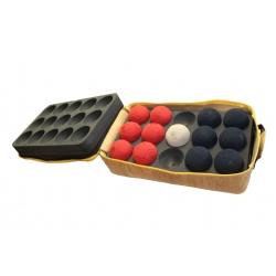 PU foam inlay boccia ball case Tutti per Tutti penové vnútro kufor na lopty BASHTO SPORTS paralympic