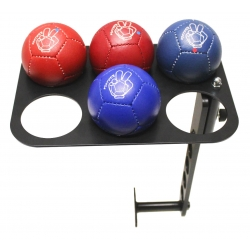 Solid Boccia Ball Tray with Wheelchair Mounting