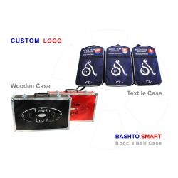 01 Logo custom vlasné BASHTO SPORTS boccia ball case kufor lopty BC3 paralympic