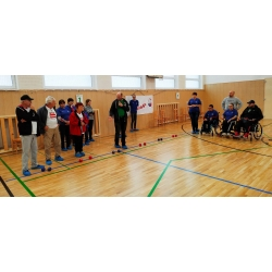 Boccia instruction day