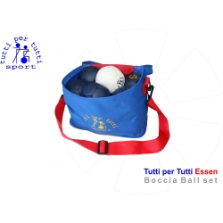 Tutti per tutti boccia ball type essen set 01 bashto sports paralympic logo