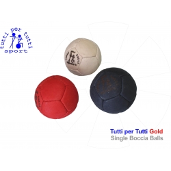 Tutti per tutti boccia ball type gold single 01 bashto sports paralympic logo